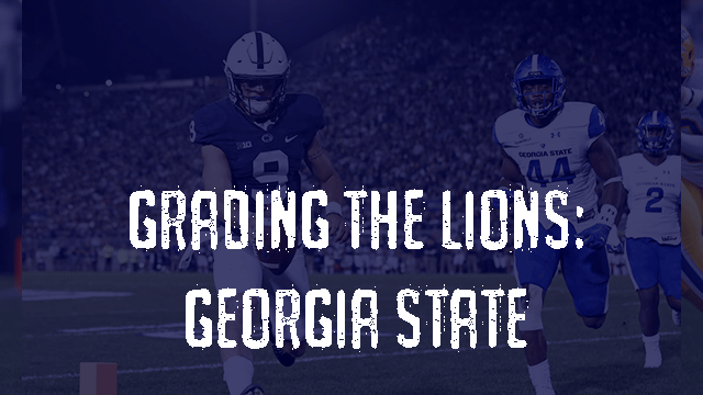 Penn State Post Game Grades - Georgia State