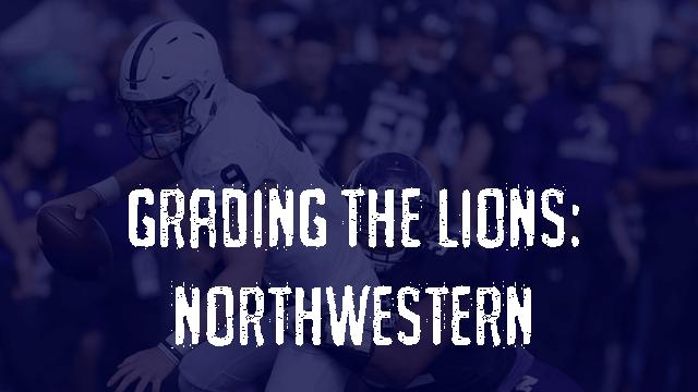 Penn State Post Game Grades - Northwestern