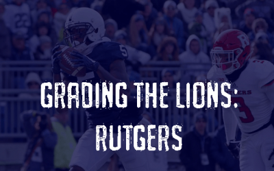 Grading the Lions – Rutgers