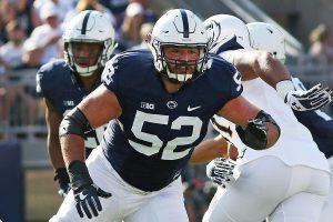 Penn State Offensive Lineman Ryan Bates