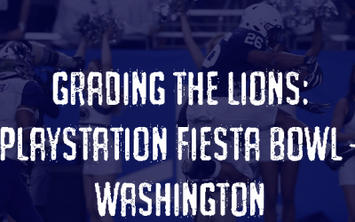 Grading the Lions: Playstation Fiesta Bowl vs. Washington