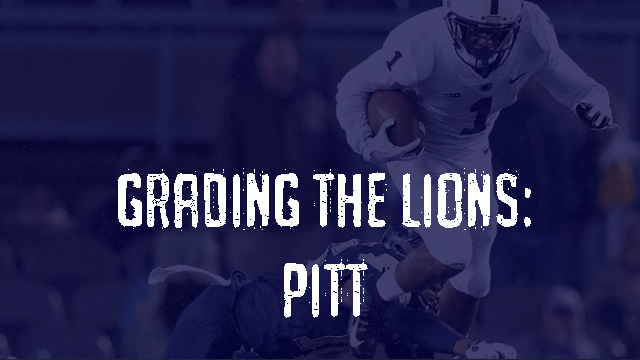 Grading the Lions – Pitt Panthers