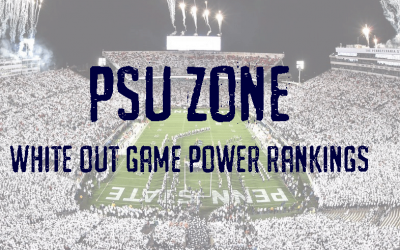 PSU Zone's Penn State White Out Power Rankings