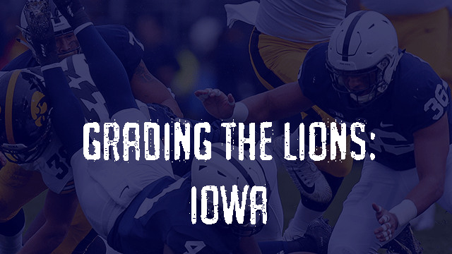 Penn State Post Game Grades - Iowa Hawkeyes