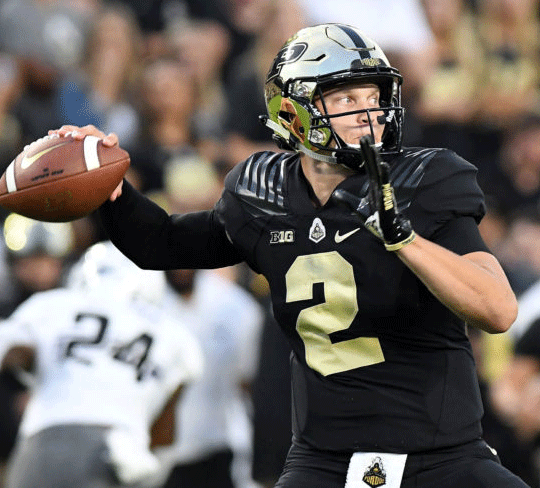 Purdue Head Coach Jeff Brohm has assured fans there is no QB controversy around who would be replacing David Blough. 5th year signal caller Elijah Sindelar should be the man under center when the Boilermakers visit Happy Valley in early October