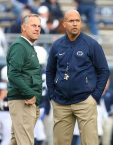 Since the Franklin era started, Mark Dantonio has out coached Penn State more often than not