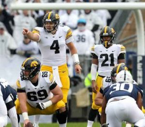Iowa QB Nate Stanley Returns to Face Penn State in Iowa