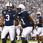 KJ Hamler paced the Nittany Lions to a crucial conference win against the Michigan Wolverines in a whiteout at Beaver Stadium