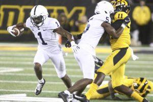 Penn State WRs KJ Hamler and Jahan Dotson